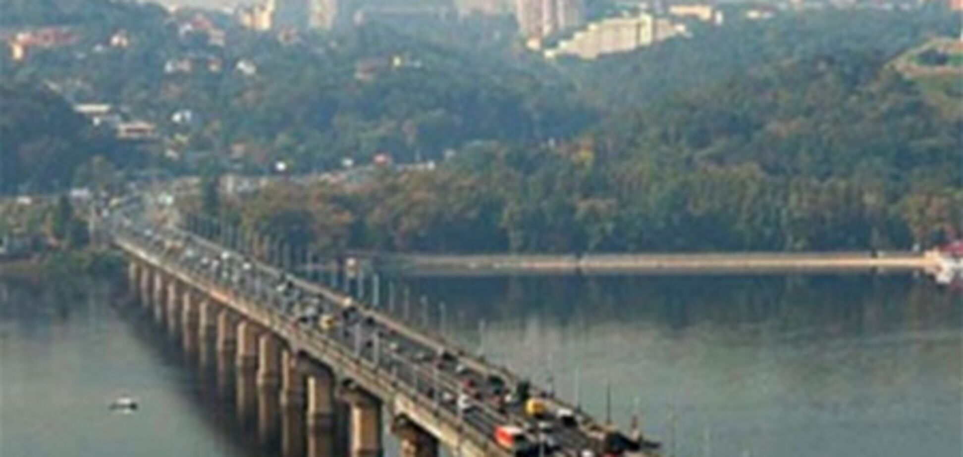 Развязку возле моста Патона сделали не полностью