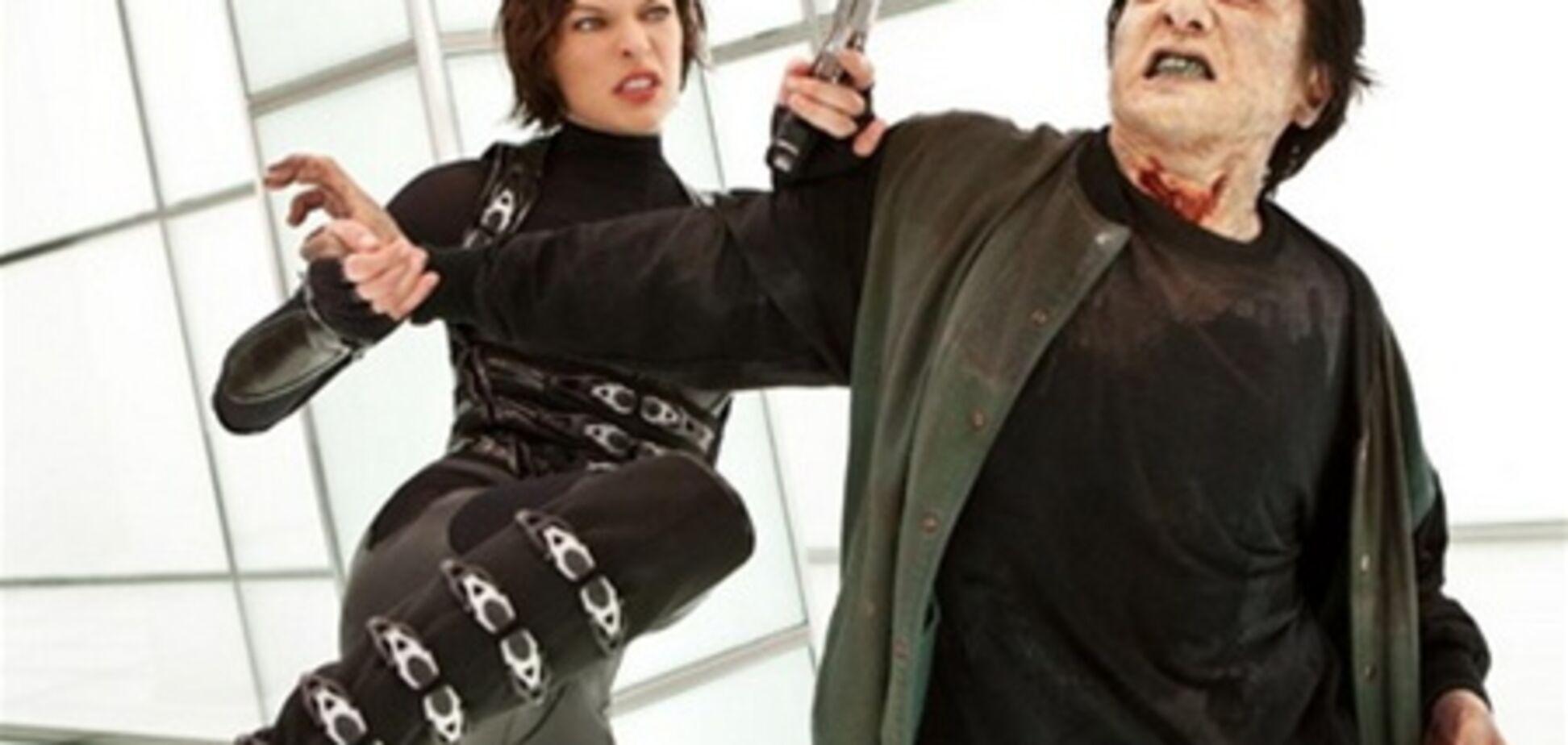 Зомби и Милла Йовович 'гребут капусту'