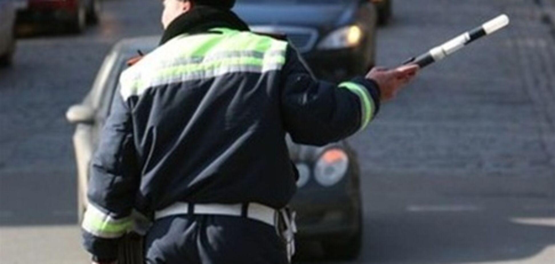 Киевского водителя задержали за взятку