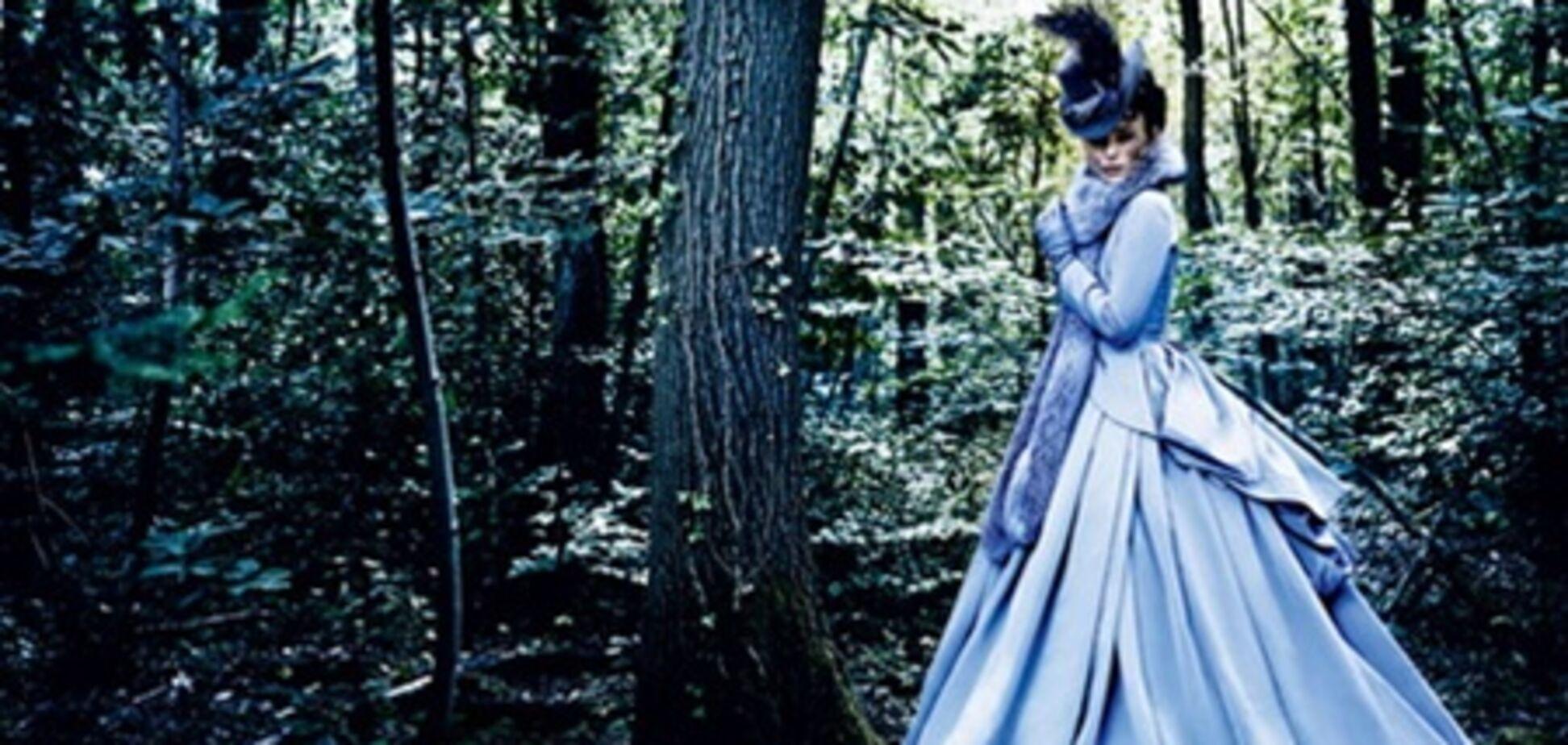 Анна Каренина и ее мужчины в журнале Vogue