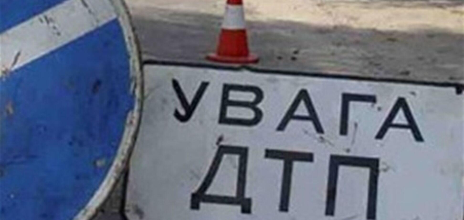 За сутки в Киеве произошло четыре ДТП