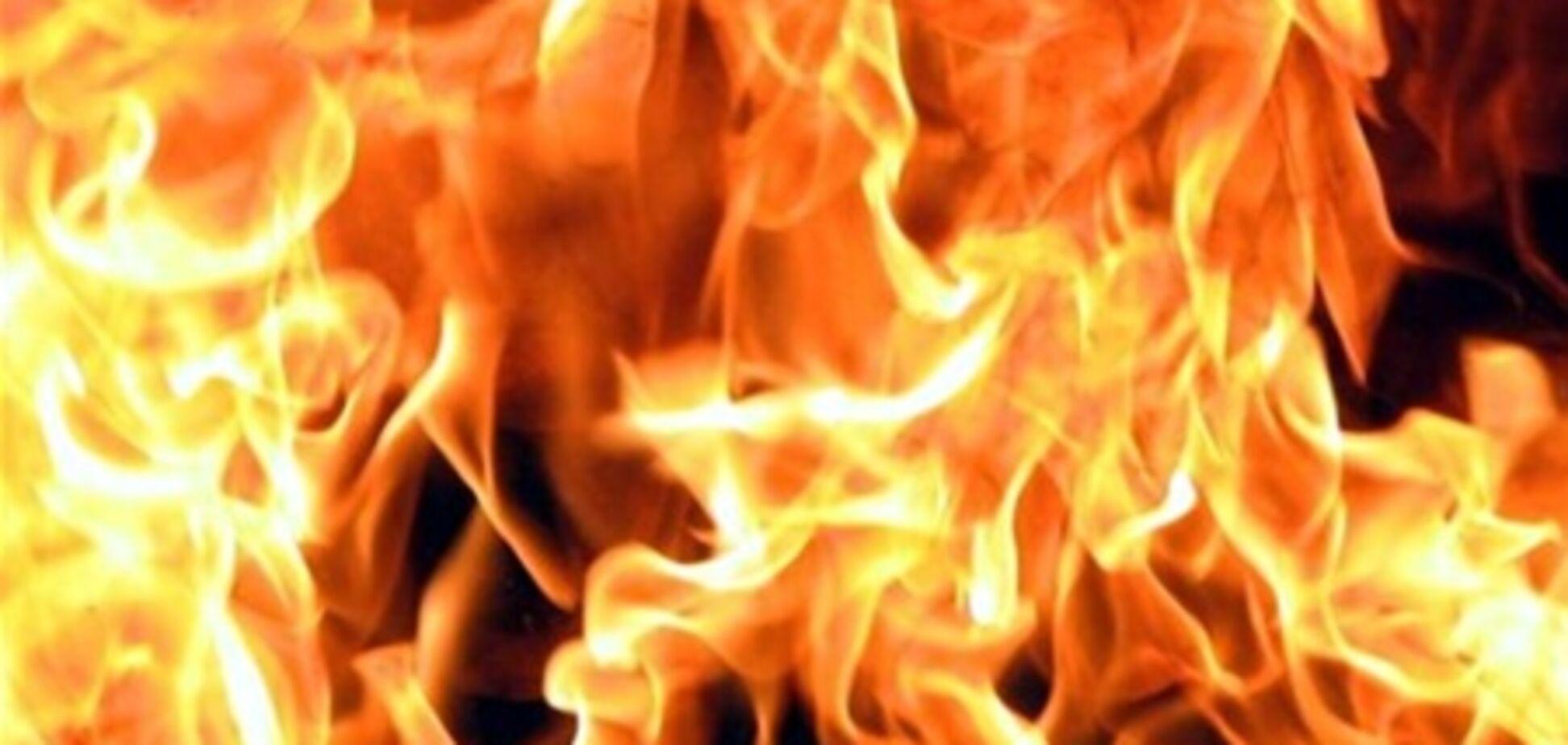 Под Одессой сгорел дом, в котором жили 14 человек