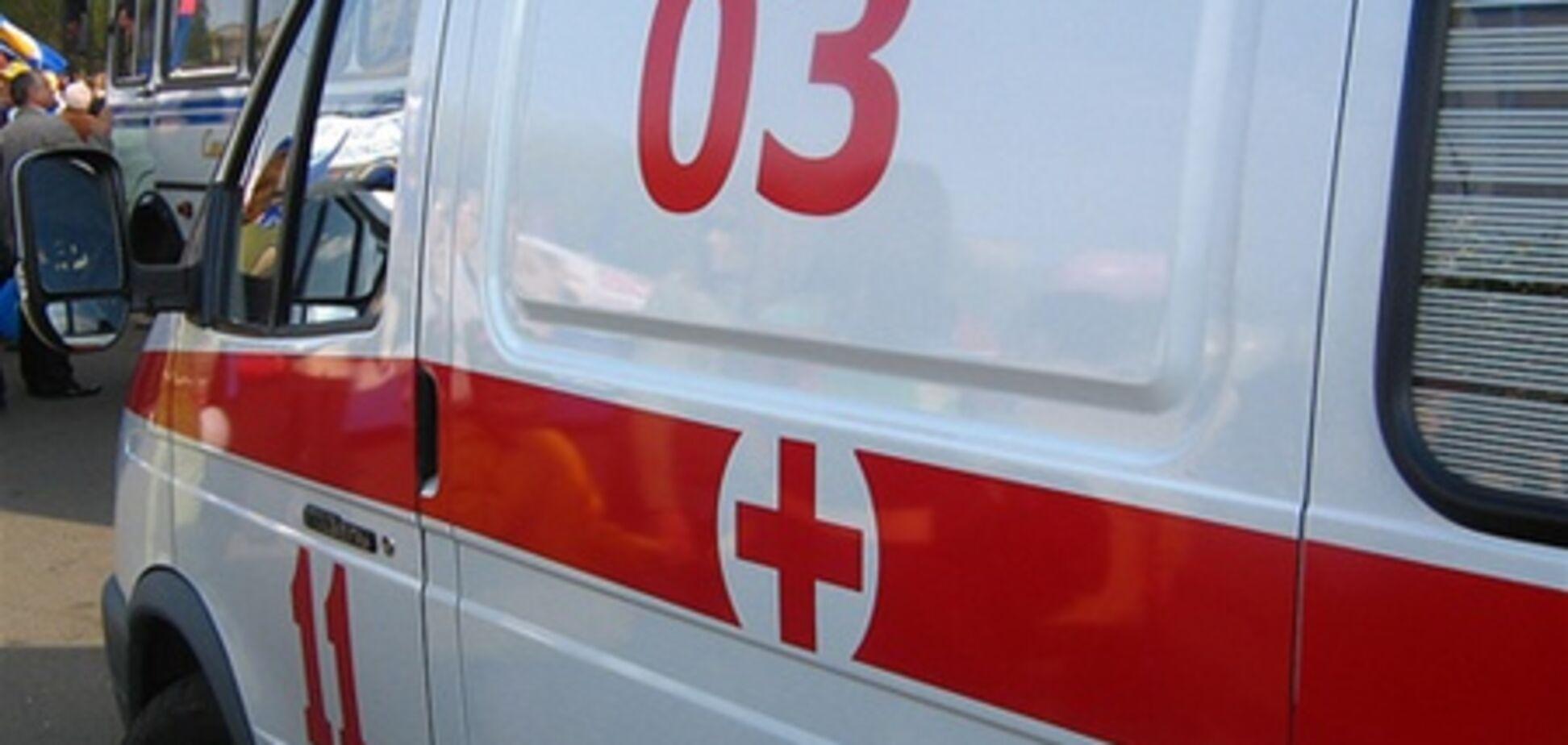 В Киеве водители сбили двух детей