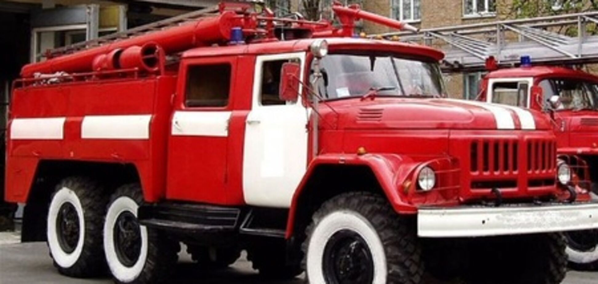 В Киеве горела четырехэтажка
