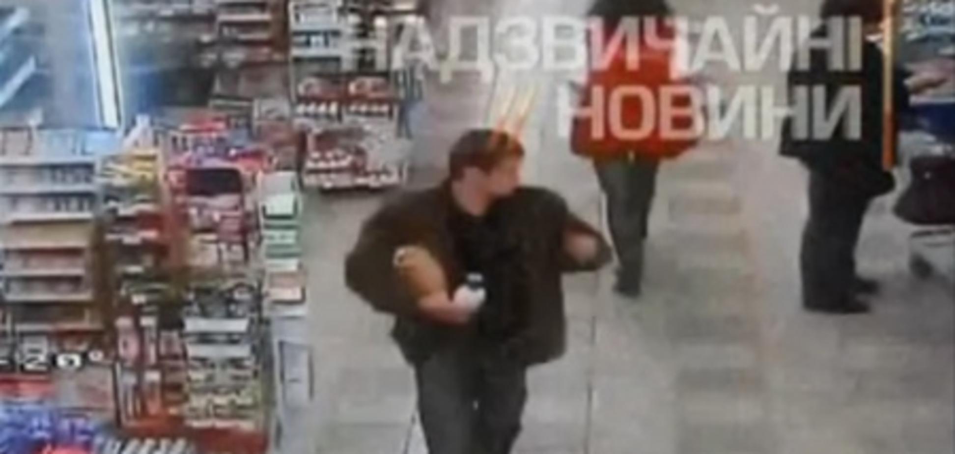 Обнародовано видео бойни в комнате охраны в 'Караване'