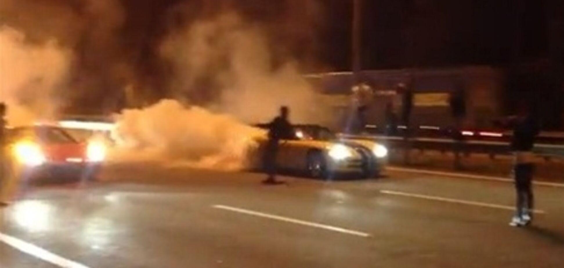 Нелегальными киевскими автогонками интересуется прокуратура