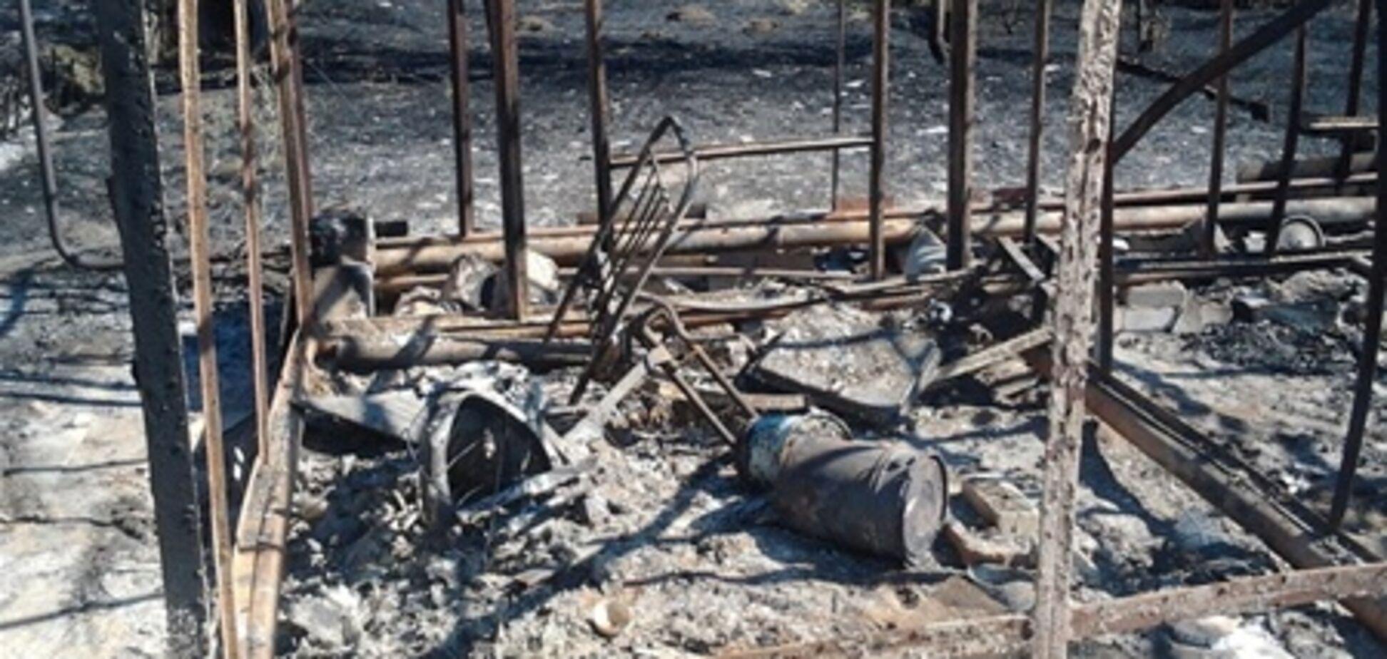 На Одещині мало не згоріло ціле село: у пожежників 'не було соляри'