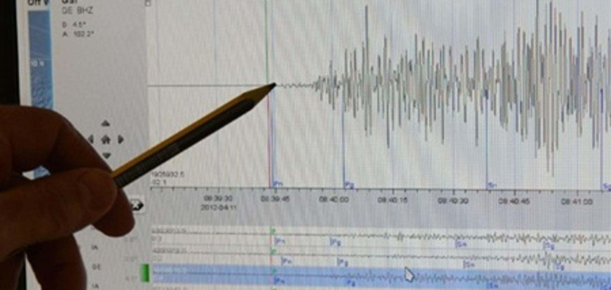 У берегов Крыма произошло три землетрясения