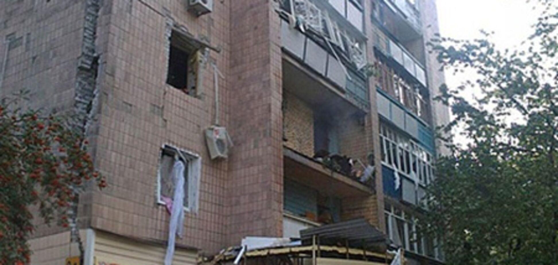 Взорвавшийся дом в Харькове под угрозой обвала