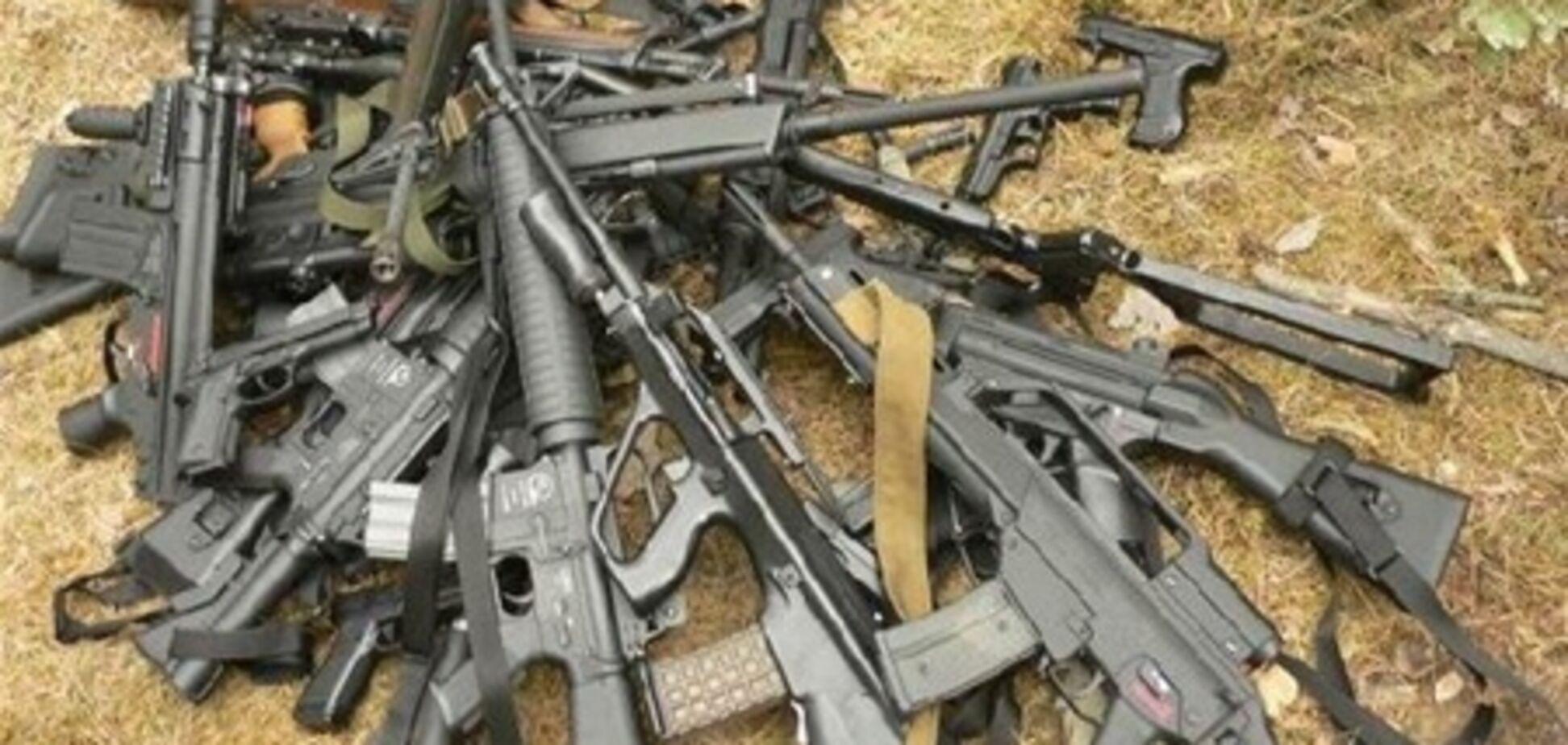 На Львовщине милиция изъяла арсенал оружия