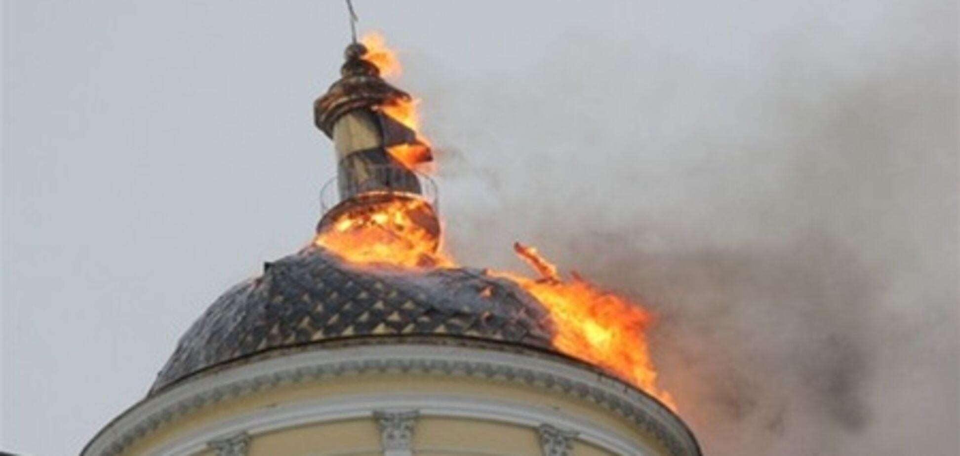 На Одесщине горела церковь