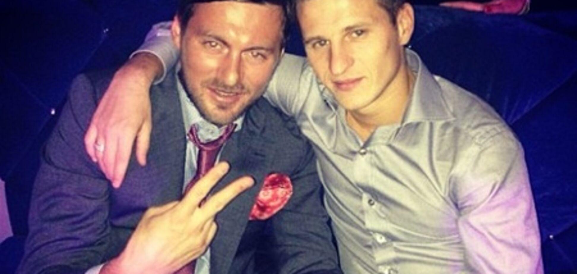 Милевский отметил последний день рождения в 'Динамо'