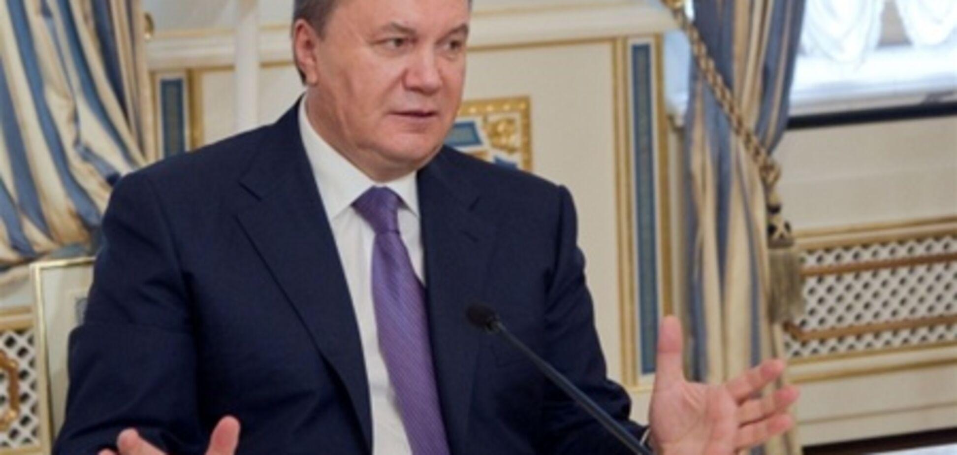 Янукович незадоволений чиновниками