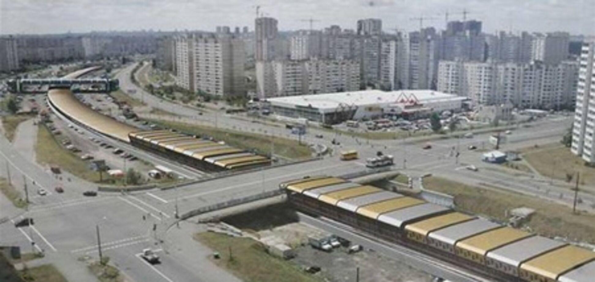За четыре года построят 7 станций метро на Троещину