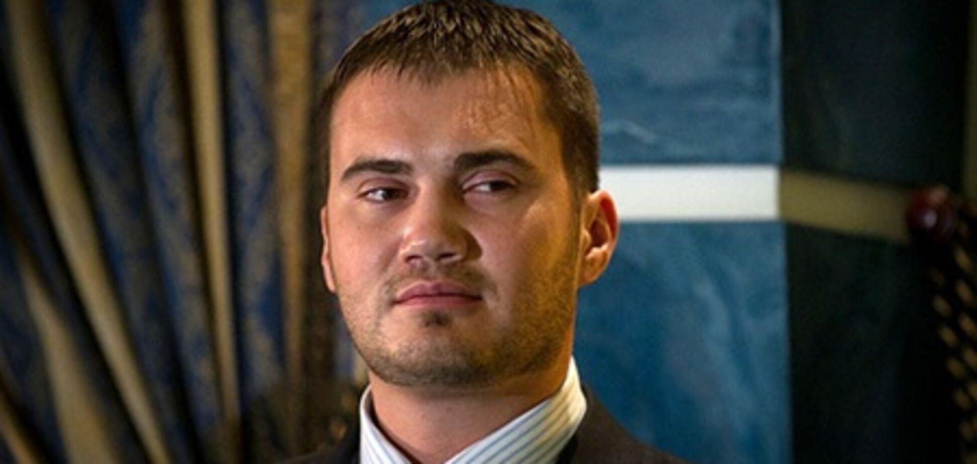 Сын Януковича стал главным автогонщиком страны