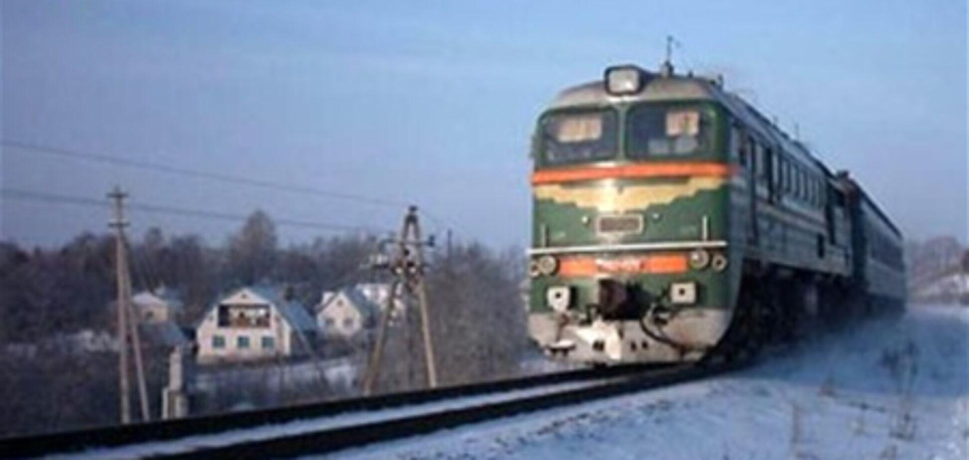 Пасажир випав з потягу і пробіг за ним сім кілометрів