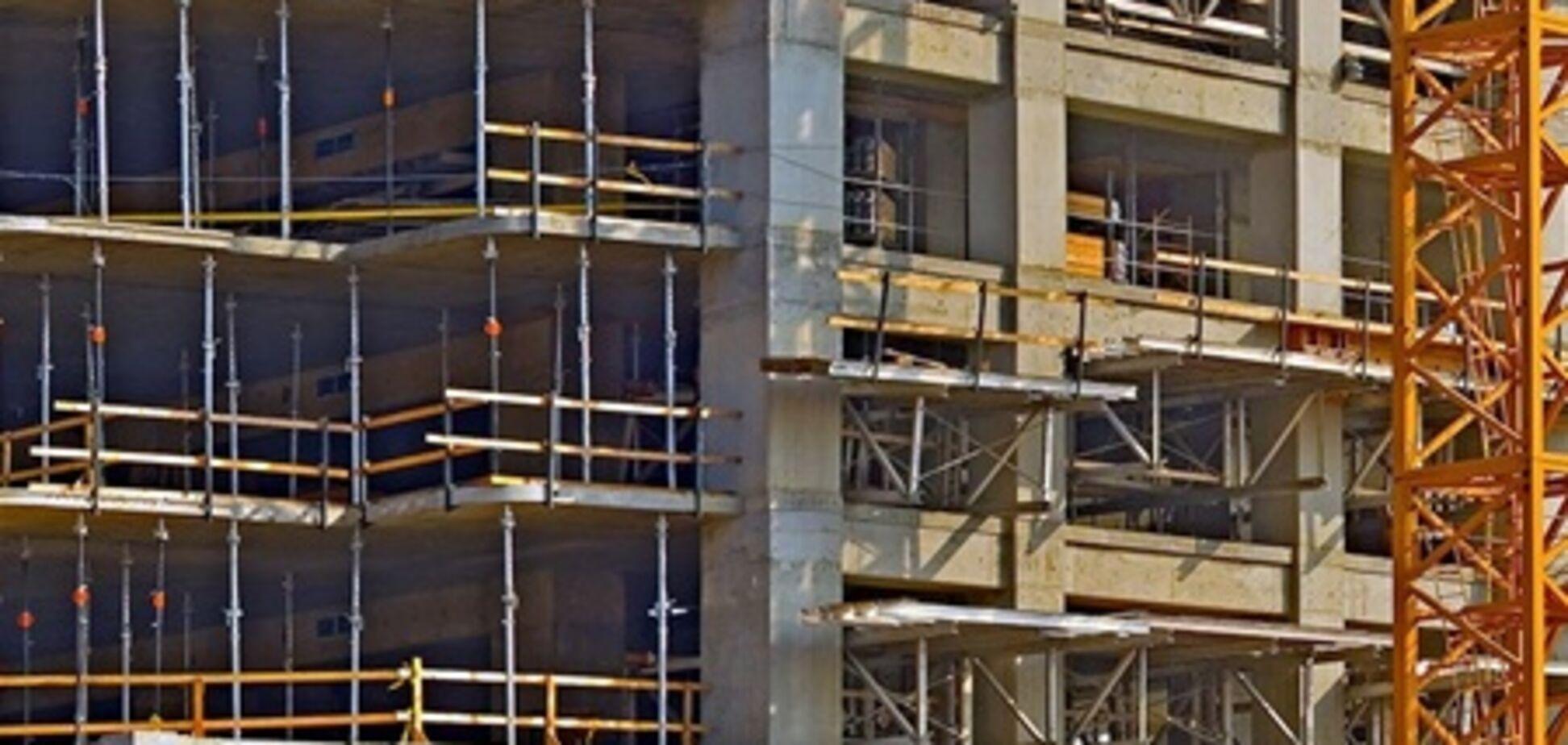 В Украине резко снизились объемы строительства
