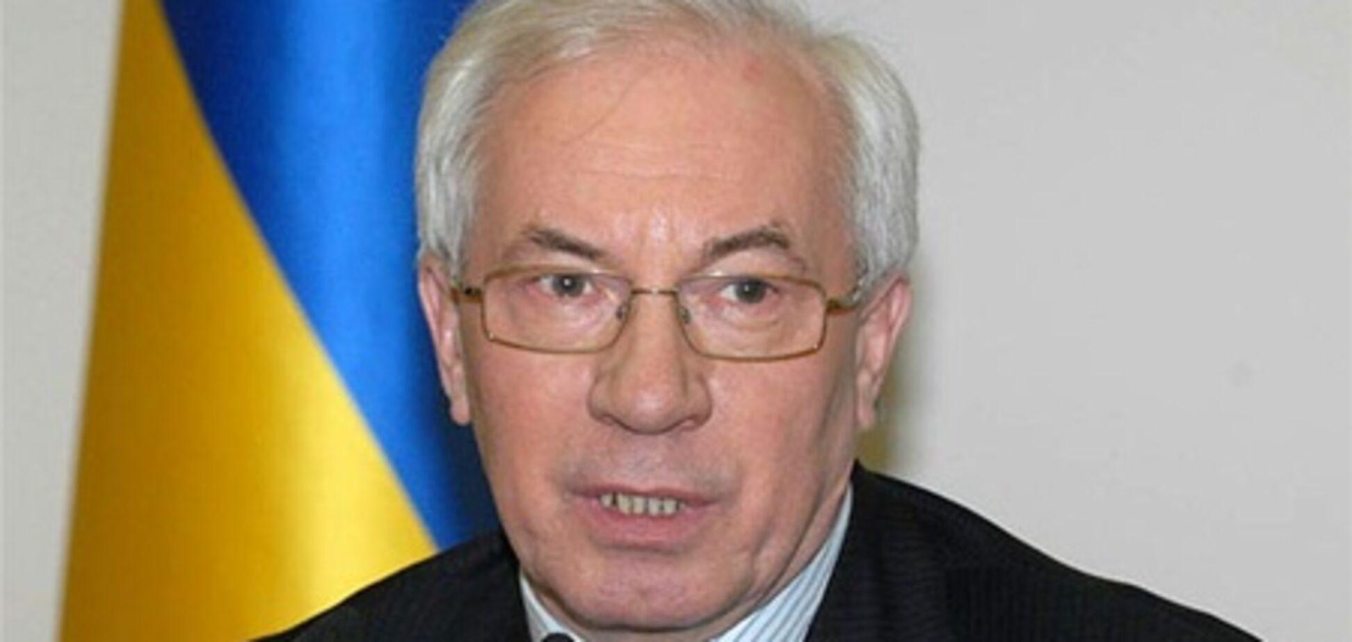 Азаров надеется на рост ВВП 3-4% в 2013