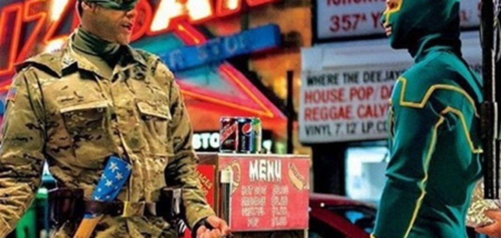 'Пипец 2': Джим Керри с патриотической дубинкой