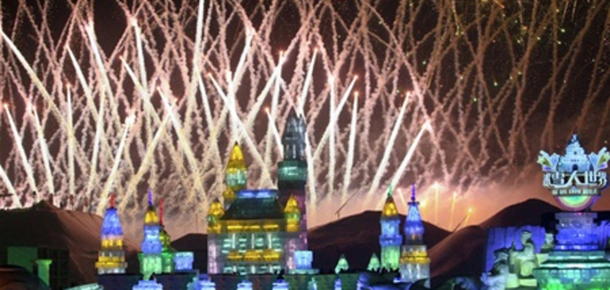 В Харбине начался Фестиваль ледовых скульптур