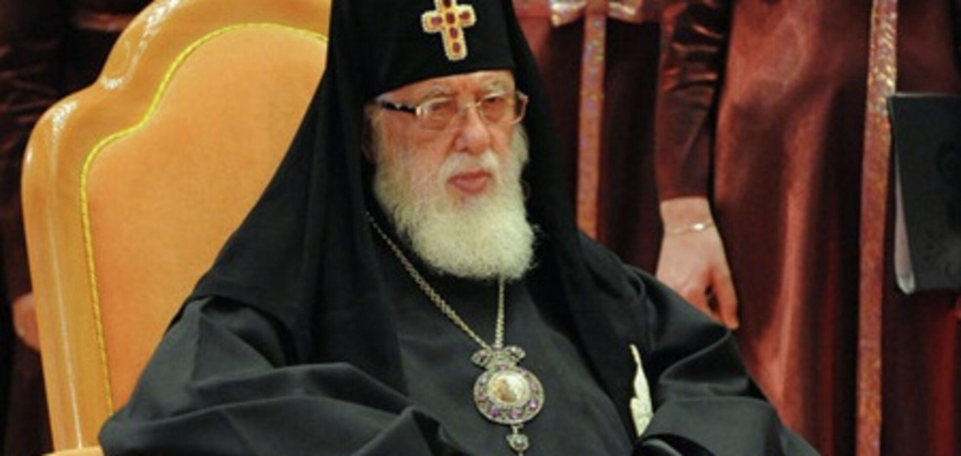 У Саакашвили осудили встречу Патриарха Грузии с Путиным