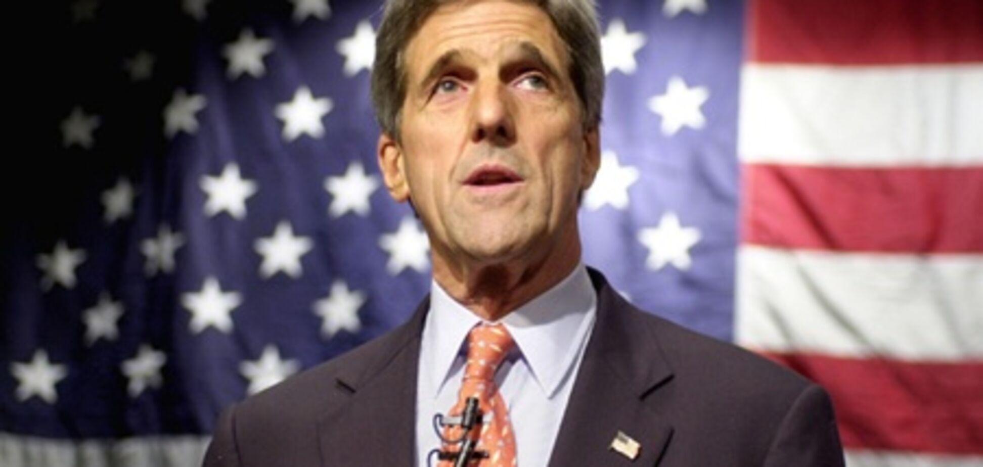 Комитет Сената США единогласно поддержал Керри на пост госсекретаря