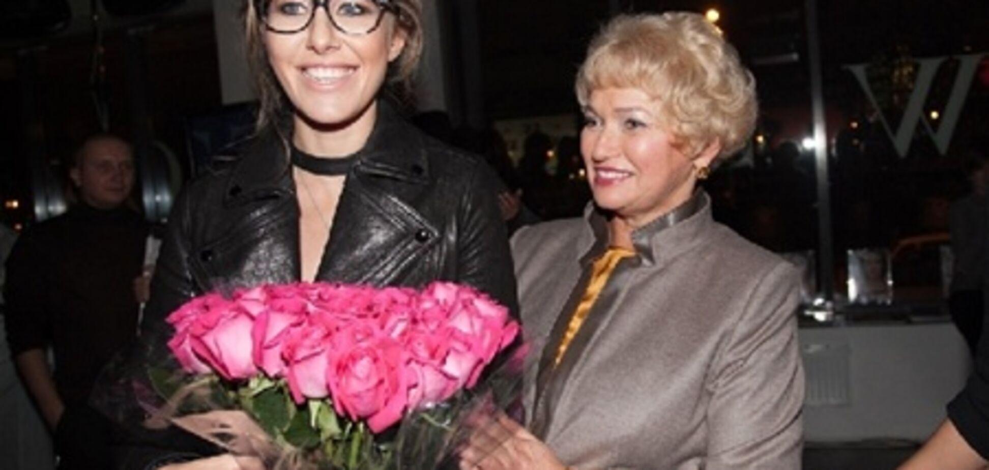 Мама Собчак посоветовала дочери показать интимное место