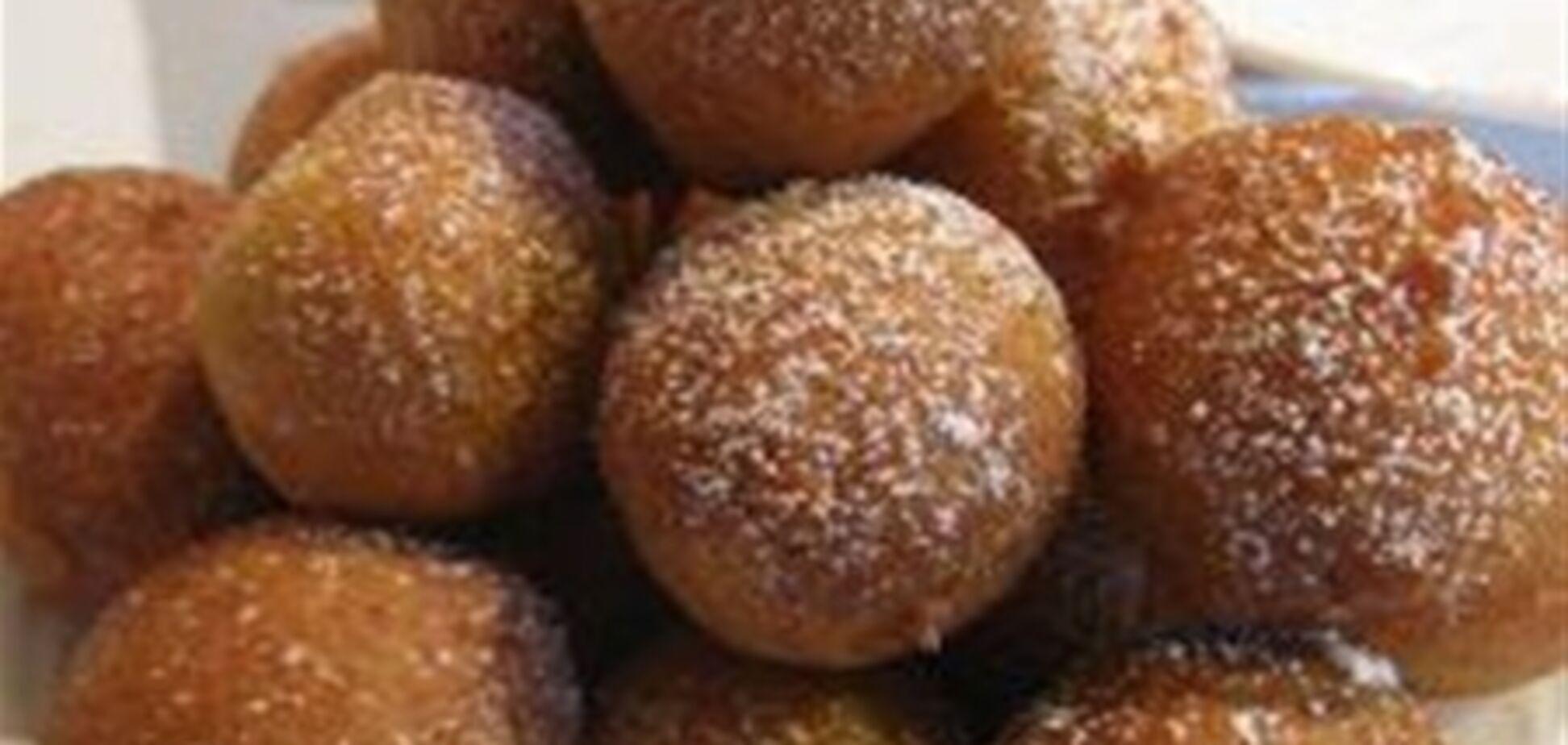Творожные пончики, 8 января 2013