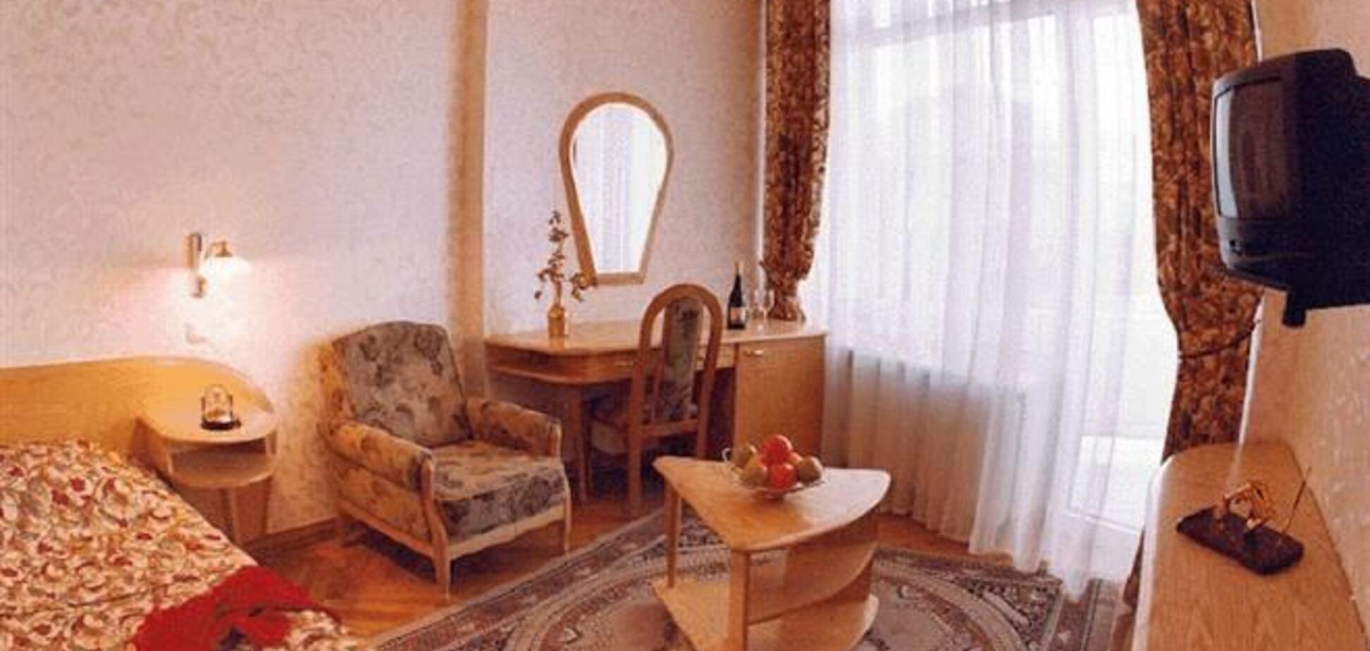 В Киеве за год на 12 % выросло количество отелей