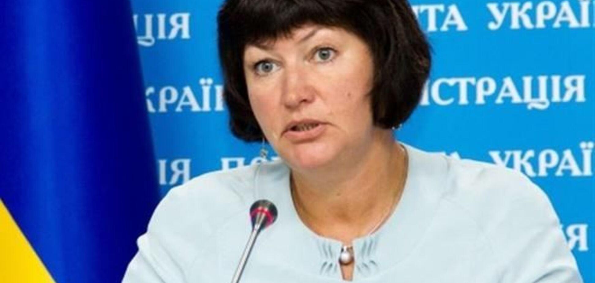 Акимова: реформы в Украине отстают от графика