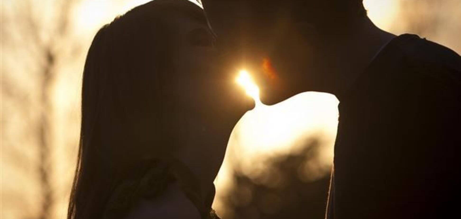 Поцелуи помогают оценить здоровье избранника