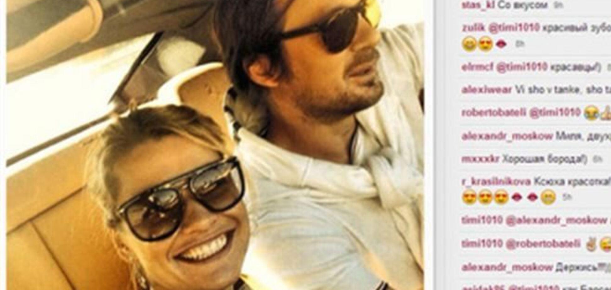 Милевский гоняет по Турции на 'Феррари' с Ксюшей-зубоскалкой