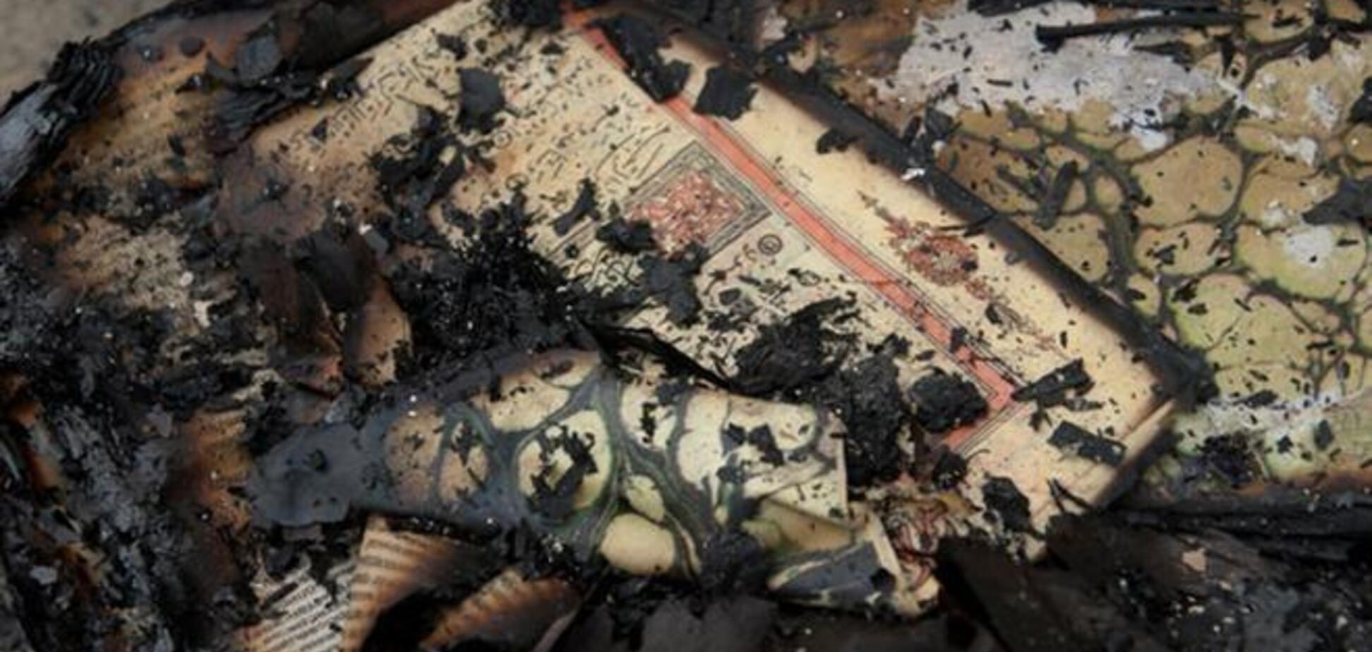 В Крыму подожгли еще одну мечеть