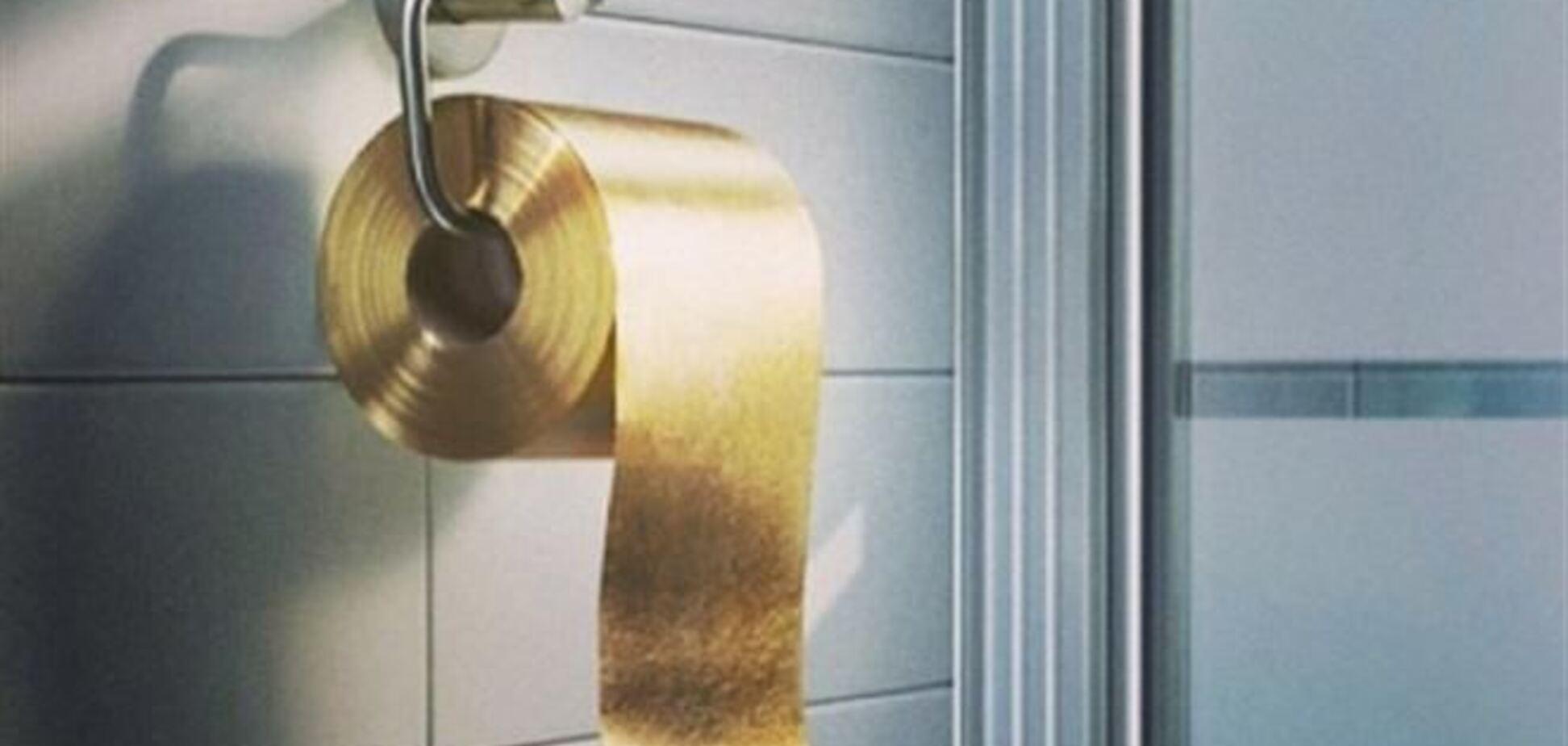 У продажу з'явилася золота туалетний папір за $ 1,3 мільйона