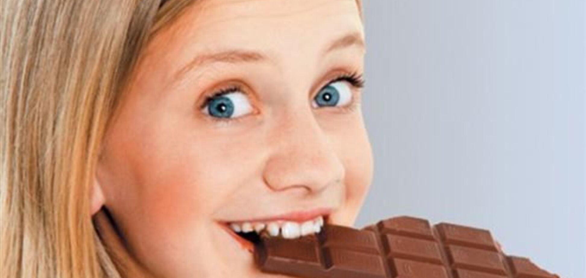 Шоколад помогает худеть и жить долго