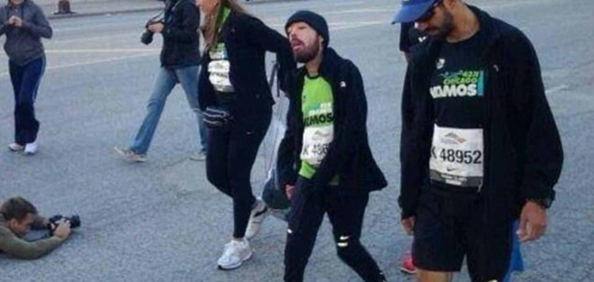 Страдающий дистрофией участник одолел Чикагский марафон