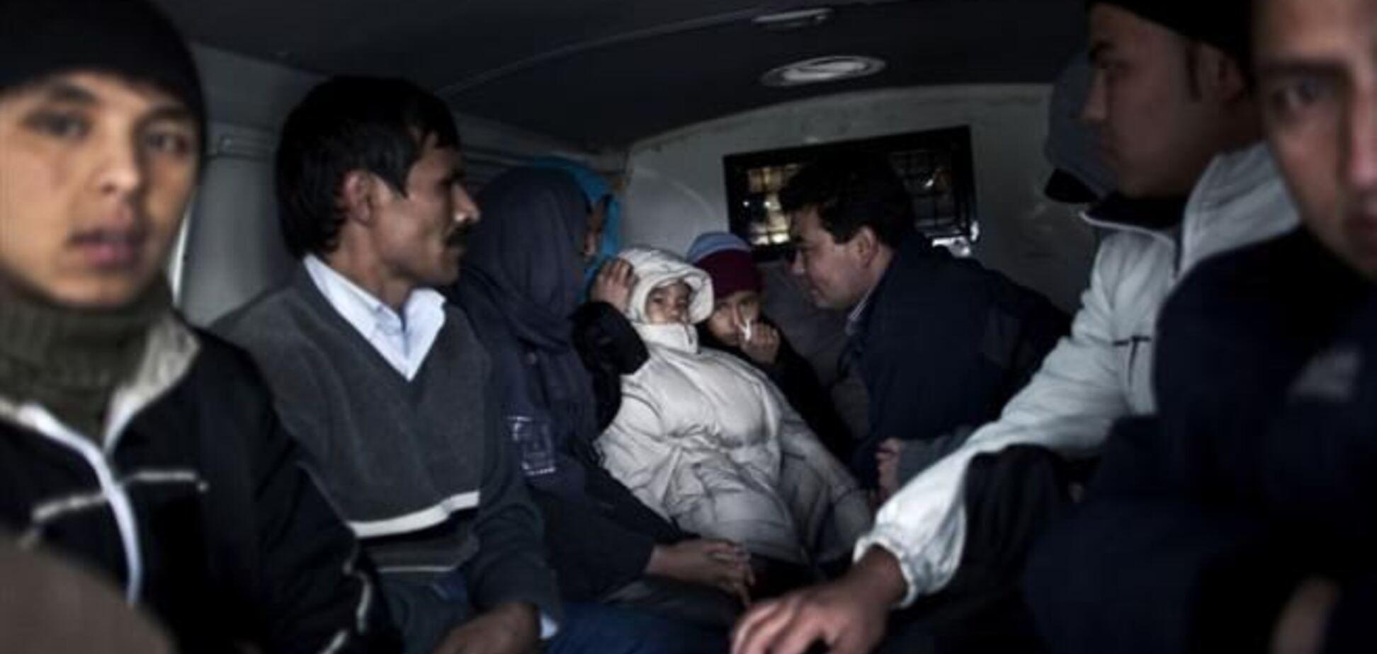 На Черниговщине нашли 24 нелегалов из Афганистана