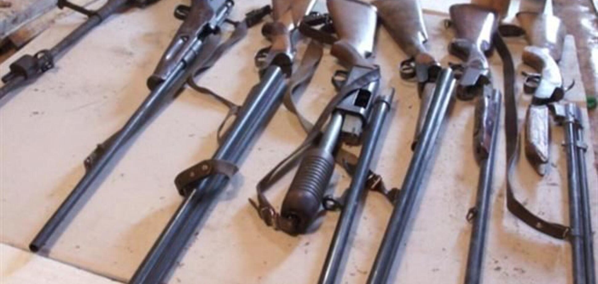 На Волыни у россиянина нашли арсенал оружия и взрывчатку