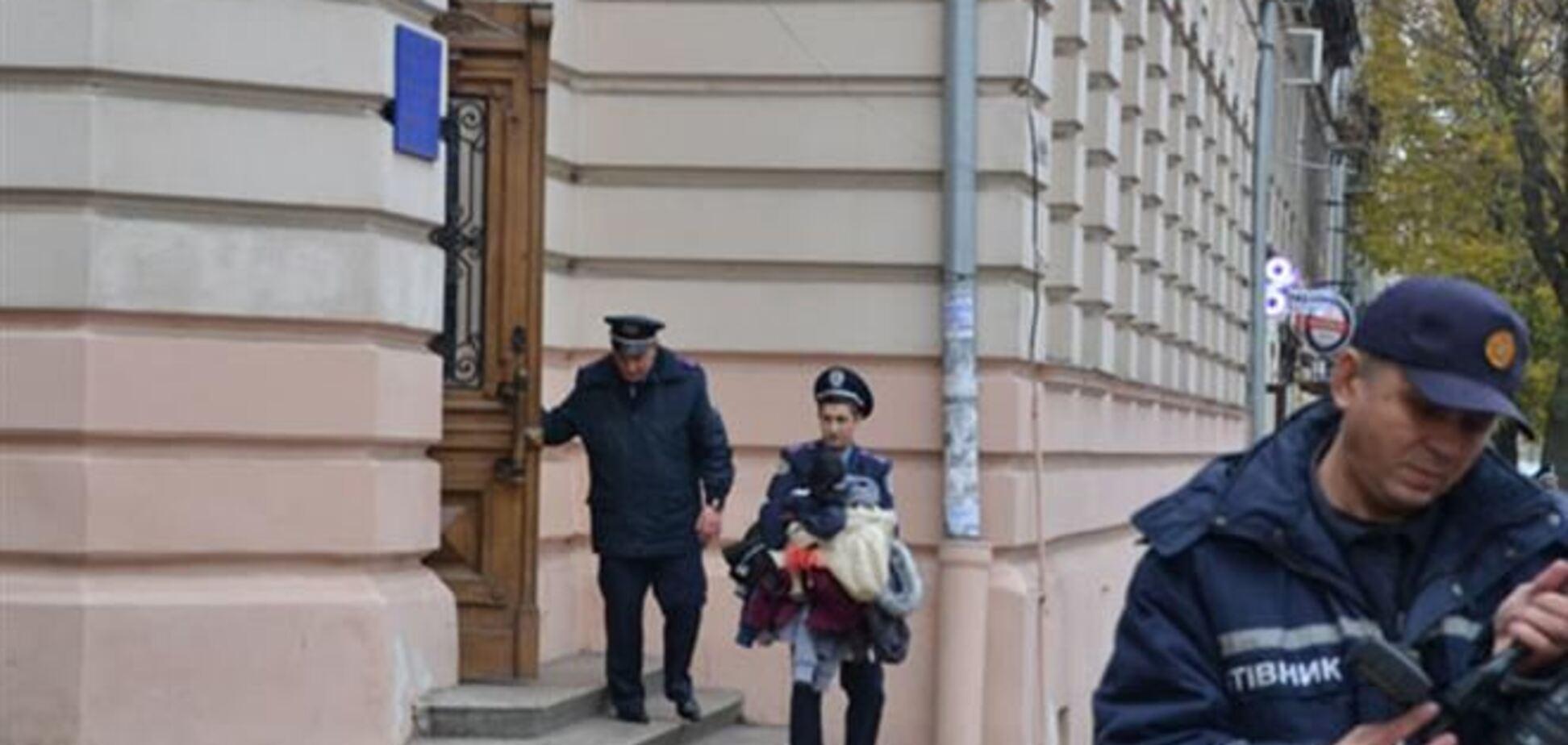 Во Львове задержали 'минера' школы