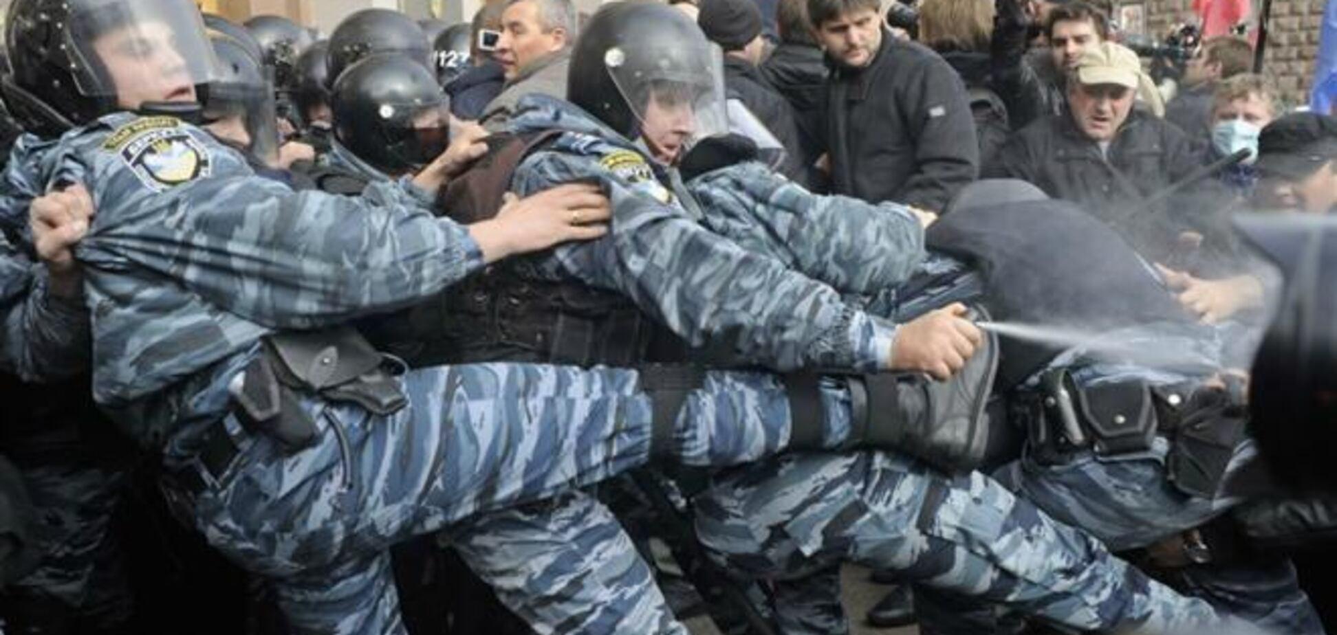 Милиция призналась, что использовала слезоточивый газ под Киеврадой