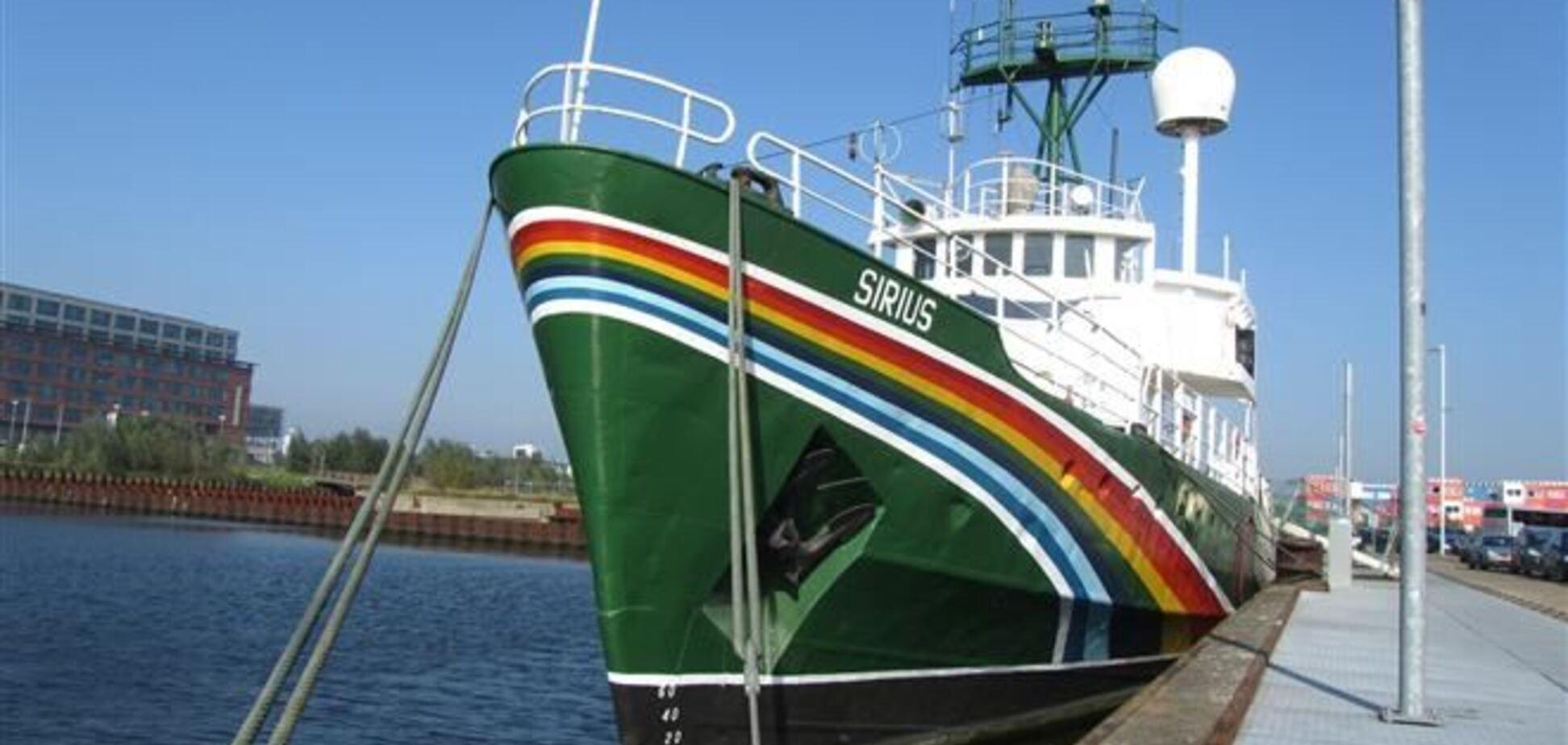 Украинцу с судна Greenpeace предъявлено обвинение в пиратстве