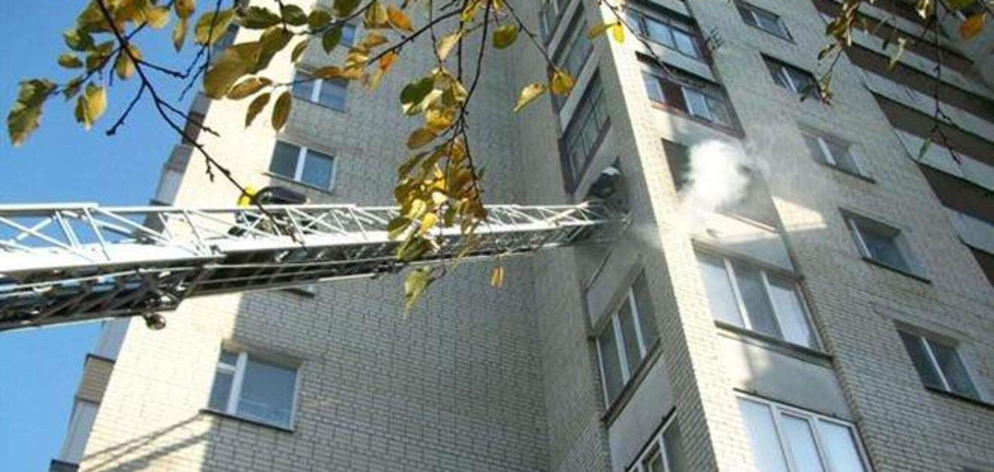 В Ривном горела 14-этажка