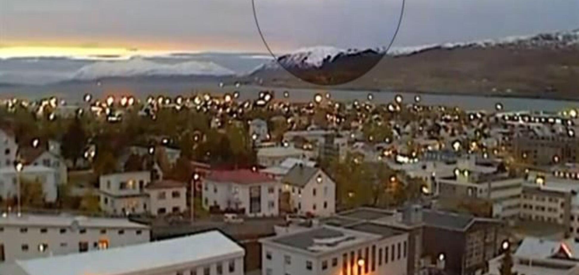 В Ісландії зняли НЛО