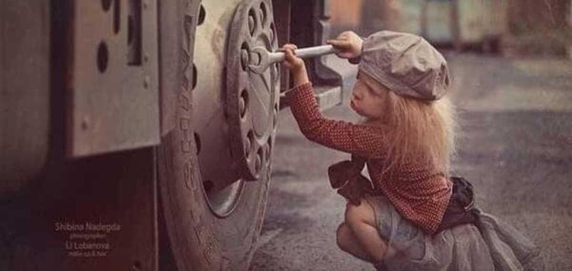 Безопасность ребенка в гараже