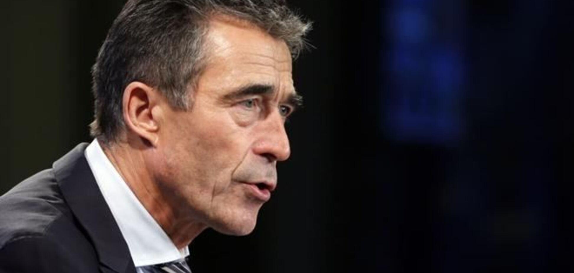 Для Украины открыты двери в НАТО - Расмуссен