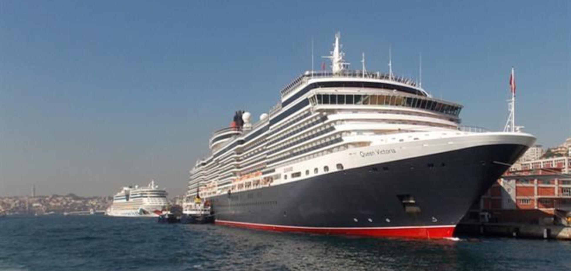 В порты Крыма зашло рекордное количество круизных судов