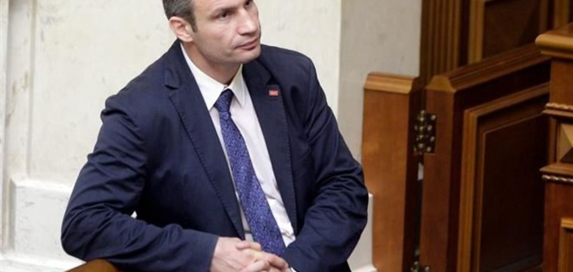 Поправки, блокирующие президентство Кличко: открыты два производства