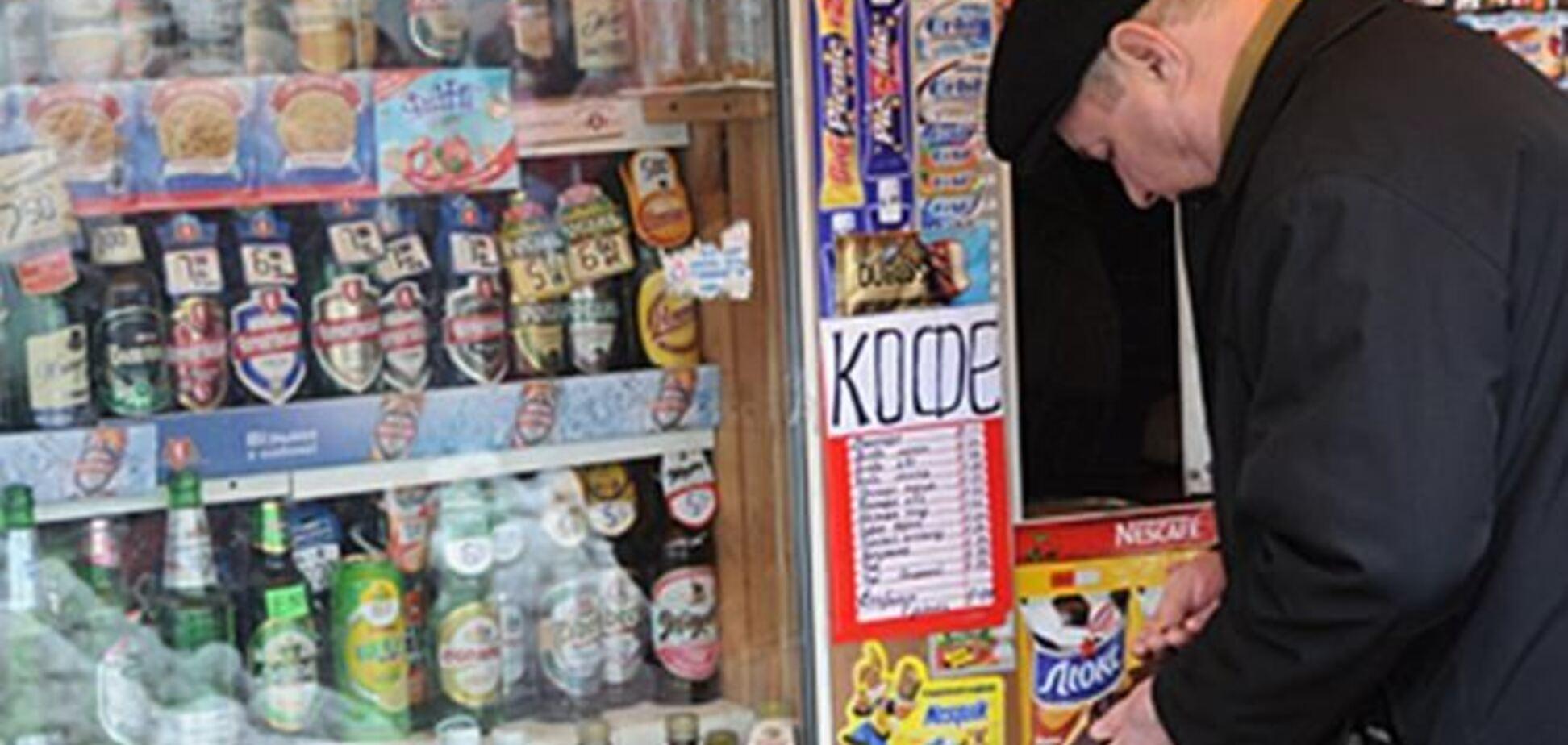 Киоски Киева хотят оставить без сигарет и пива