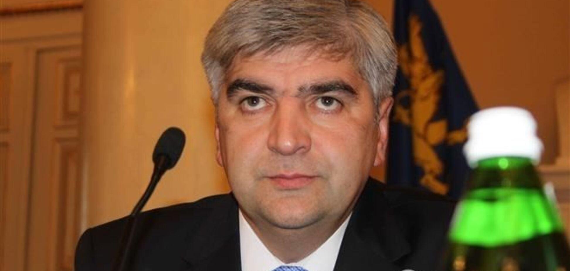 Львовская область встретила нового губернатора криками 'Ганьба!'