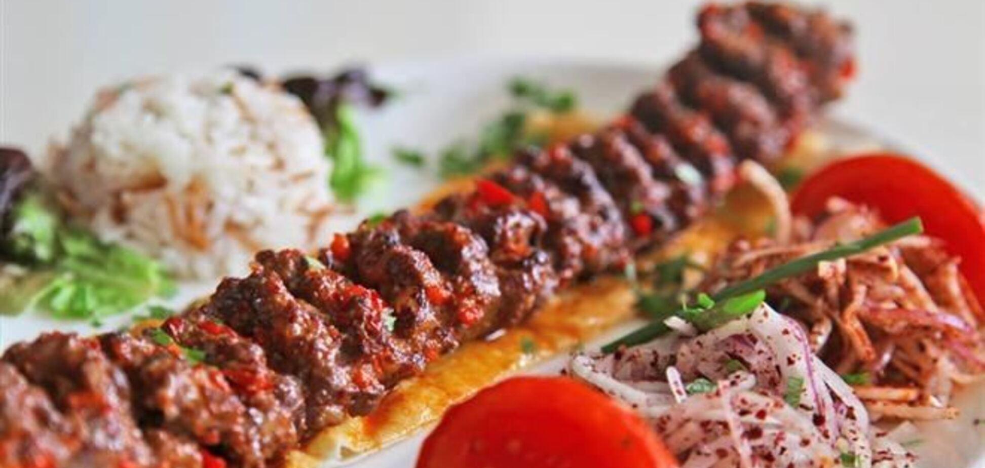 Адана-кебаб
